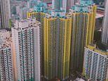 Incredible aerial footage shows the mesmerising beauty and scale of Hong Kong's concrete jungle