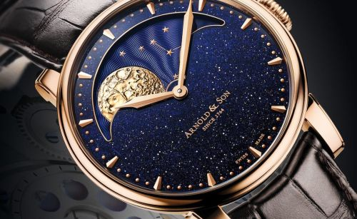 These watches with aventurine dials are an exquisite celebration of the cosmos