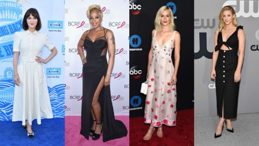 What's Black, White and Red All Over? This Week's Best-Dressed Celebrity Crew