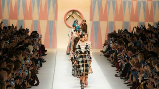 For Spring 2018, Fendi Took a Sporty, Girlish Trip to the Tropics