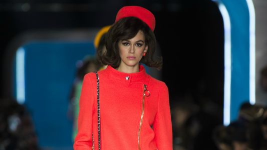 Jeremy Scott Envisions a Future Past for Moschino's Fall 2018 Collection