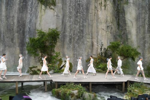 Life in Plastic Is Fantastic at Chanel's Spring 2018 Collection