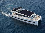 The £4m super yacht powered completely by solar power and that cruises in 'pure silence'