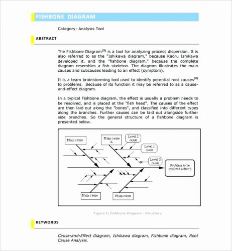 30 Best Of Root Cause Analysis Template Word Graphics