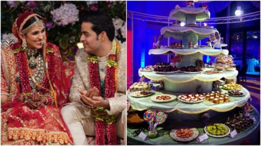 Akash Ambani and Shloka Mehta's wedding had these lavish dishes. See pics and videos