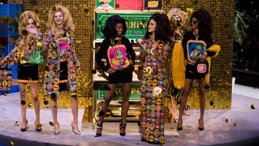 Grandmas Everywhere Are Going to Freakin' Love Jeremy Scott's Fall 2019 Collection for Moschino