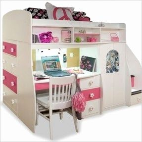 19 Best Of Girls Loft Bed with Desk Graphics