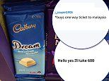 Holidaymaker spots much-missed Dream bar by Cadbury for sale in Malaysian airport