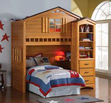 30 Elegant Bunk Bed with Built In Desk Pics