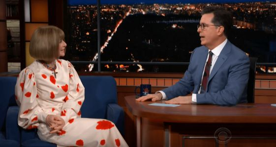 Anna Wintour Supports Scarlett Johansson's Choice to Wear Marchesa at the Met Gala