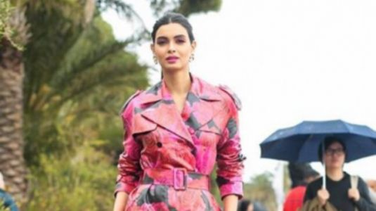 Cannes 2019: Diana Penty channels inner Angelina Jolie in trench coat dress and knee-high boots