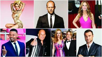 Pamela Anderson to Vin Diesel: Here are the celebs who're 50 and fabulous!