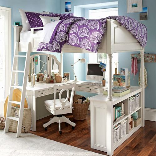 29 Elegant Teen Loft Bed with Desk Images