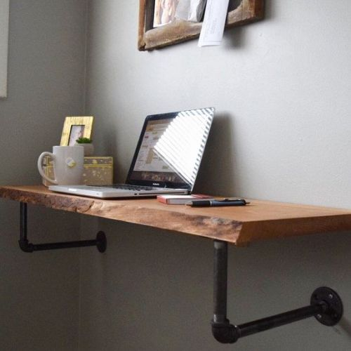 30 Beautiful Wall Mounted Floating Desk Images
