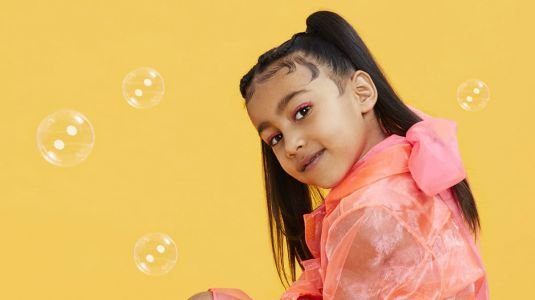Five-Year-Old North West Scores Her First Solo Cover for 'WWD Beauty Inc'