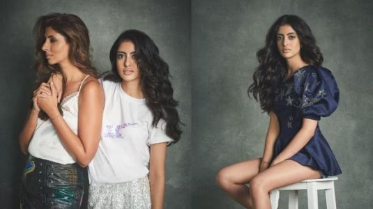 Navya Nanda and Shweta are fashion stars in this very special post. See pic