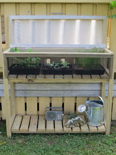 DIY: Make a weather-resistant propagation station
