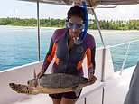 Meet Dr Claire Petros, the 'turtle woman' of the Maldives