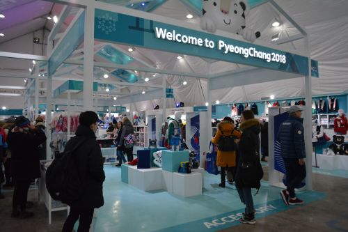 Olympics Merchandise Covers a Wide Ground