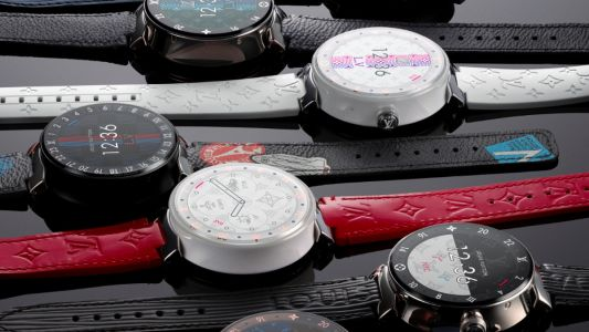 Time for fashionable tech: Louis Vuitton's new smartwatch