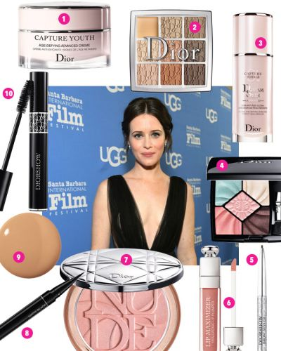 "We're Craving Claire Foy's ""Smudgy, Cool-Girl Eye"""