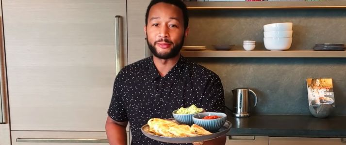 Weekly Recipe: John Legend's Crispy Quesadillas