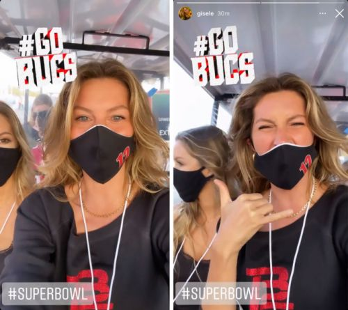 Gisele Bündchen's Super Bowl Look Was Flawless, As Usual