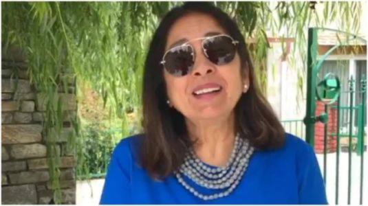 Neena Gupta wants to show you her new t-shirt. See Instagram post