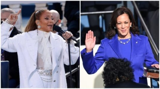 Jennifer Lopez, inspired by Kamala Harris, wears pearls on Inauguration Day