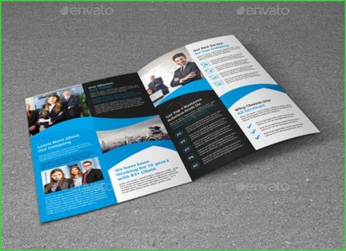 30 Fresh Half Fold Brochure Template Pictures