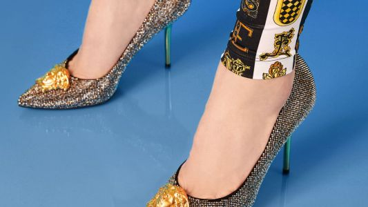 Weekly Obsessions: Versace Medusa pumps, Chanel foundation and more
