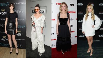 This Week's Best Dressed Go for Structured, Sexy Looks