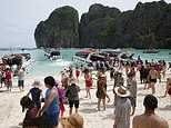 Thai beach made famous by Hollywood closes indefinitely