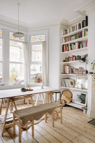 A Victorian Home with A Scandinavian Vibe