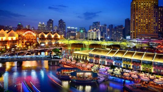 Bar guide: Where to drink in Clarke Quay