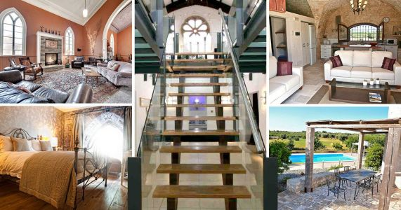 Churches have been turned into these incredible holiday homes for you to stay in