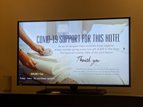 'Please consider': Hyatt message asked guests for donations to the hotel amid COVID-19 pandemic