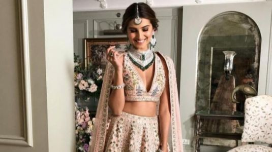 Tara Sutaria in lehenga worth Rs 6 lakh is every bride-to-be's dream. See pics