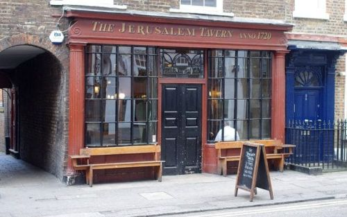 The Jerusalem Tavern, London EC1, review: drinking in history