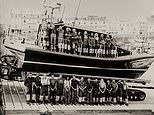 Courage off the coast: Stunning photos chart 100 years of RNLI