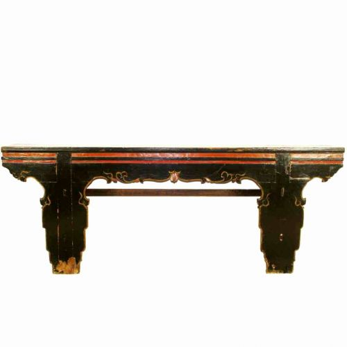50 Awesome Long Black Console Table Pics