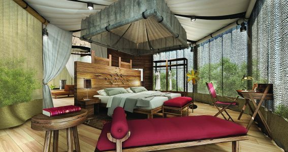 The Pavilions Himalayas Lake View opens as the first luxury tented villa hotel in Nepal