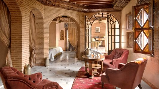 Check into these beautiful Moroccan riads for an exotic and magical stay