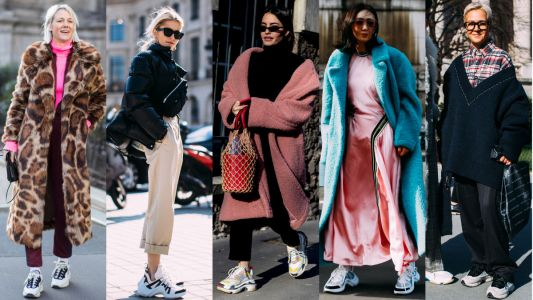 Showgoers Wore Chunky Sneakers on Day 2 of Paris Fashion Week