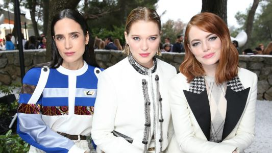 Louis Vuitton's Cruise 2019 Front Row Had an On-Brand Look for Everybody