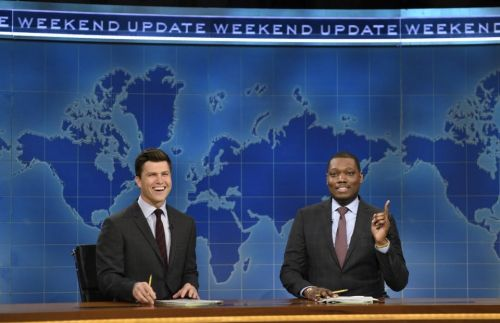 SNL's Michael Che and Colin Jost will host the Emmys
