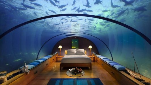 Dive straight into the best underwater hotels in Asia