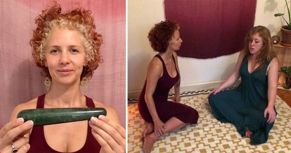 Meet the 'vagina witch' who uses massage wands to teach women how to improve their sex lives