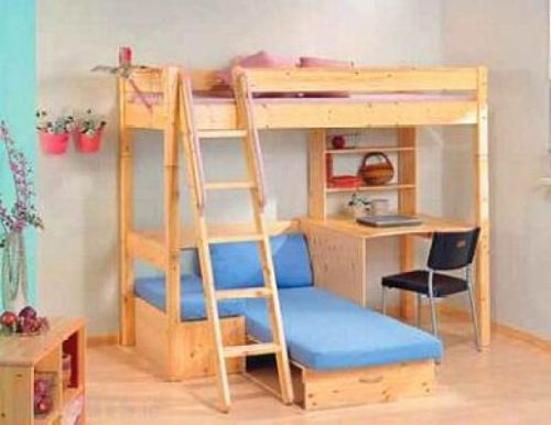20 Fresh Loft Beds with Desk and Couch Images
