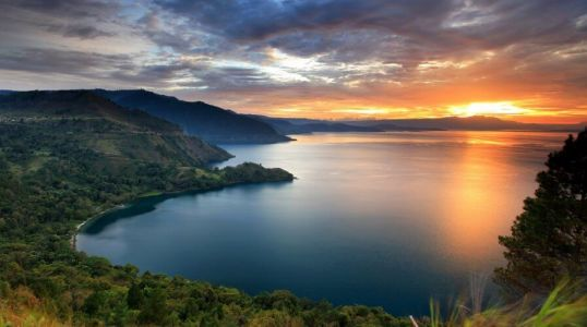 Check out: Lake Toba in Sumatra, the world's largest crater lake home to the Batak tribe